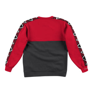 Chicago Bulls Mitchell & Ness Scorer Fleece Crew Sweatshirt