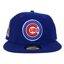 Load image into Gallery viewer, Chicago Cubs Royal Blue Red Bottom 2016 World Series Cooperstown New Era 59Fifty Fitted