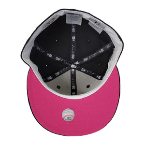 Chicago White Sox 2005 World Series 59FIFTY New Era Black Hat Fusion Pink Bottom