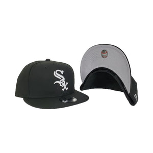 Chicago White Sox Black New Era 9Fifty Snapback Hat