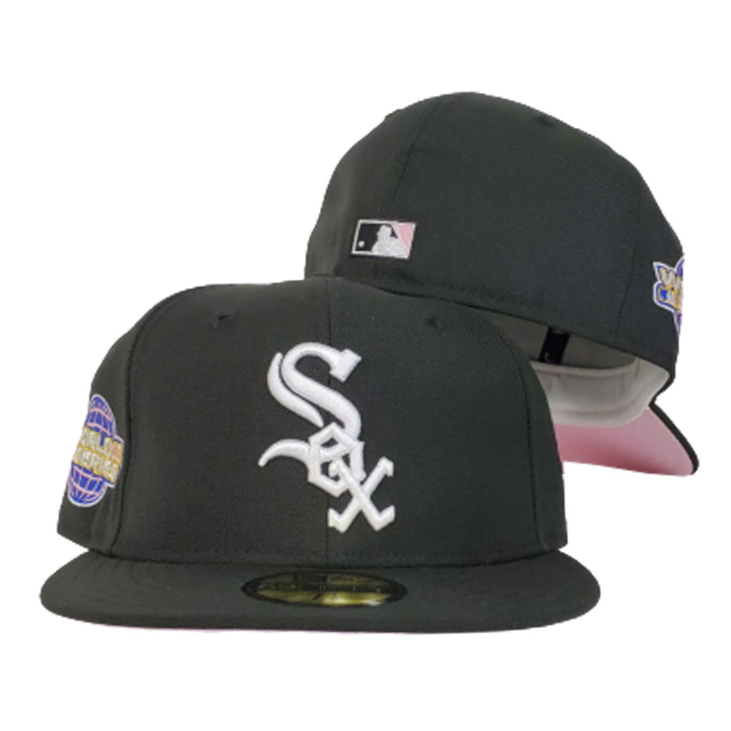 Chicago White Sox Black Pink Bottom 2005 World Series New Era 59Fifty Fitted