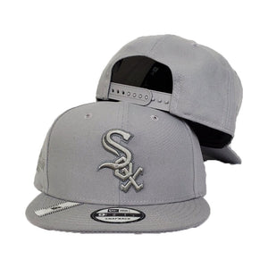 Chicago White Sox Grey Reflective 2005 World Series New Era 9Fifty Snapback Hat