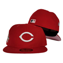 Load image into Gallery viewer, Cincinnati Reds Red Pink Bottom 2010 All Star Game New Era 59Fifty Fitted