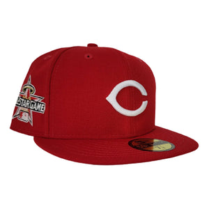 Cincinnati Reds Red Pink Bottom 2010 All Star Game New Era 59Fifty Fitted