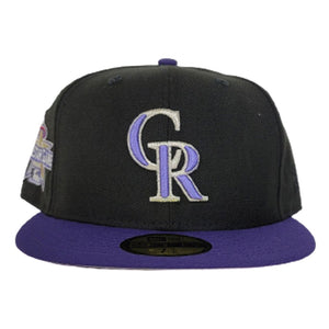 Colorado Rockies 2010 All Star Game Side Patch New Era 59Fifty Fitted Hat