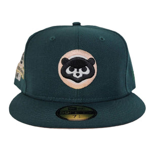 Dark Green Chicago Cubs Peach Bottom 1990 All Star Game New Era 59Fifty Fitted