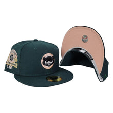 Load image into Gallery viewer, Dark Green Chicago Cubs Peach Bottom 1990 All Star Game New Era 59Fifty Fitted