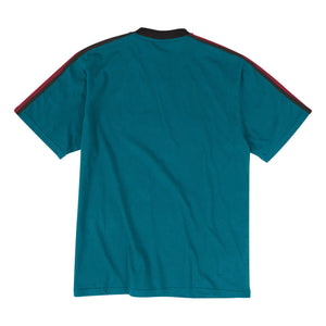 Detroit Pistons Mitchell & Ness Overtime Win V-Neck T-Shirt – Teal