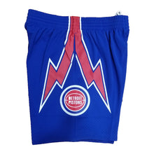 Load image into Gallery viewer, Detroit Pistons Mitchell & Ness Royal Blue Swingman Shorts
