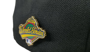 FLORIDA MARLINS 1997 WORLD SERIES METAL PIN NEW ERA 59FIFTY FITTED HAT