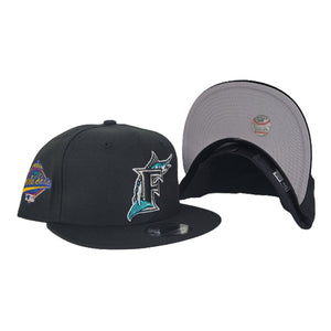 Florida Marlins Black 1997 World Series Side Patch New Era 9Fifty Snapback