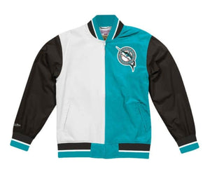 Florida Marlins Mitchell & Ness Men's MLB Team History Warm up Jacket