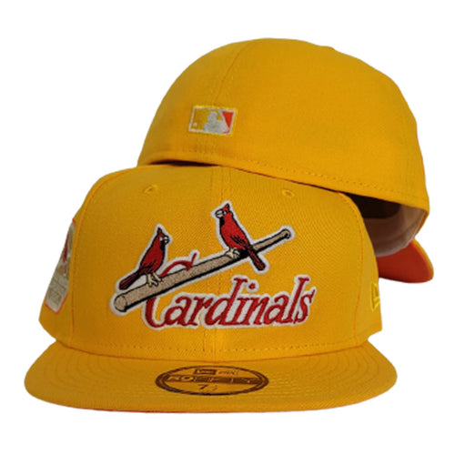 Glow In The Dark Yellow St. Louis Cardinals Orange Bottom 1926 World Series New Era 59Fifty Fitted