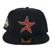 Load image into Gallery viewer, Houston Astros Cooperstown Black New Era 2005 World Series Side Patch 59Fifty Fitted