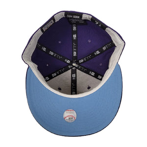 Houston Astros Purple Icy Blue Bottom 2005 World Series New Era 59Fifty Fitted