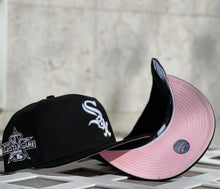 Load image into Gallery viewer, Product Chicago White Sox 2010 All Star Game 59Fifty New Era Black Fitted Pink Bottom