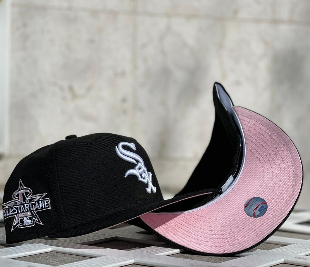 Product Chicago White Sox 2010 All Star Game 59Fifty New Era Black Fitted Pink Bottom