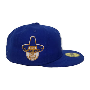 Los Angeles Dodgers Light Royal 1959 All Star Game Cooperstown New Era 59Fifty Fitted