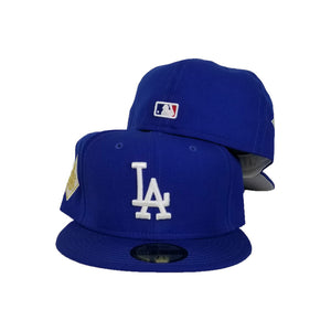Los Angeles Dodgers Light Royal 2017 World Series New Era 59Fifty Fitted