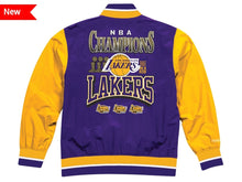 Load image into Gallery viewer, Los Angeles Lakers Mitchell & Ness NBA Men's Team History Warm up Jacket