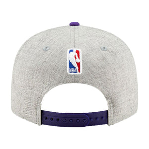 Los Angeles Lakers New Era Heather Gray 2019 NBA Draft 9FIFTY Snapback Adjustable Hat