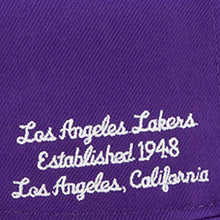 Load image into Gallery viewer, Los Angeles Lakers New Era Purple 2019 NBA Draft 9FIFTY Snapback Adjustable Hat