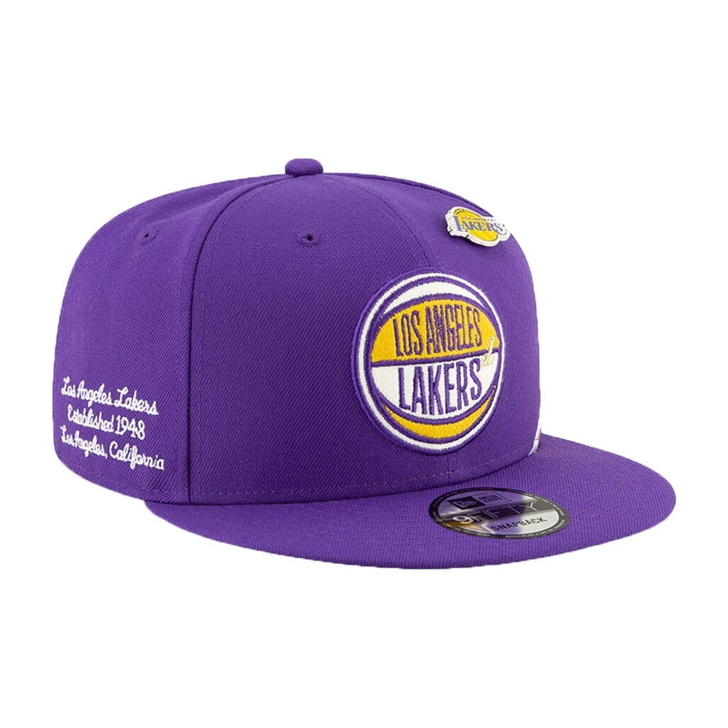 Los Angeles Lakers New Era Purple 2019 NBA Draft 9FIFTY Snapback Adjustable Hat