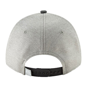 Los Angeles Rams New Era Heather Gray/Heather Charcoal Super Bowl LIII Bound Two-Tone 9FORTY Adjustable Hat