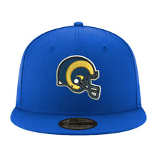 Load image into Gallery viewer, Los Angeles Rams New Era Royal Super Bowl LIII Side Patch Sideline 9FIFTY Snapback Adjustable Hat