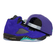 Load image into Gallery viewer, MATCHING NEW ERA 9FIFTY ARIZONA DIAMONDBACKS SNAPBACK HAT FOR JORDAN 5 GRAPE
