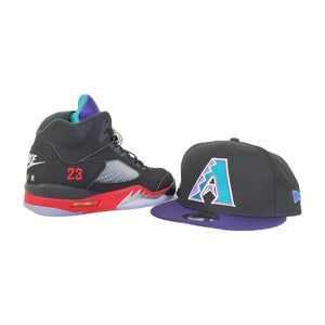 MATCHING NEW ERA 9FIFTY ARIZONA DIAMONDBACKS SNAPBACK HAT FOR JORDAN 5 TOP 3