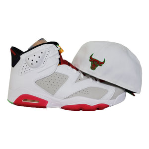 MATCHING NEW ERA CHICAGO BULLS FITTED HAT FOR JORDAN 6 HARE