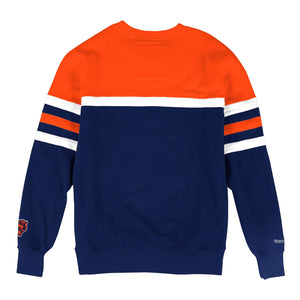 MITCHELL & NESS CHICAGO BEARS HEAD COACH CREW SWEATSHIRT