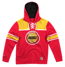Load image into Gallery viewer, MITCHELL & NESS HOUSTON ROCKETS FLEECE HOCKEY HOODIE