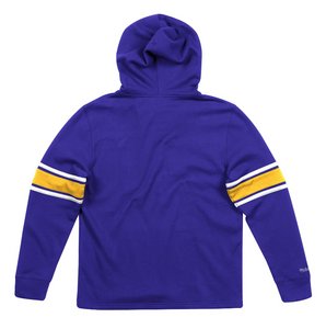 MITCHELL & NESS LOS ANGELES LAKERS FLEECE HOCKEY HOODIE