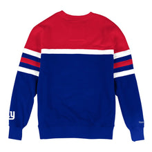 Load image into Gallery viewer, MITCHELL & NESS NEW YORK GIANTS HEAD COACH CREW SWEATSHIRT
