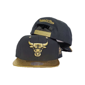 Matching Mitchell & Ness Chicago Bulls Snapback Hat for Jordan 6 DMP