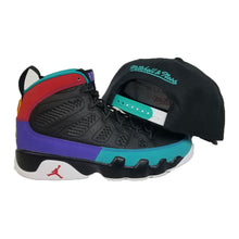Load image into Gallery viewer, Matching Mitchell & Ness Vancouver Grizzlies Snapback Hat For Jordan 9 Dream It Do It