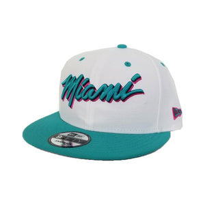 Matching New Era 9Fifty Miami Heat snapback for Nike Air Max 97 South Beach