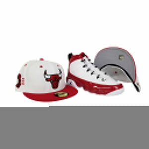 Matching New Era Chicago Bulls Fitted Hat For Jordan 9 Gym Red