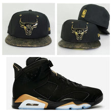 Load image into Gallery viewer, Matching New Era Chicago Bulls Snakeskin Fitted Hat for Jordan 6 DMP