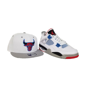 Matching New Era Chicago Bulls Snapback Hat For Jordan 4 What The
