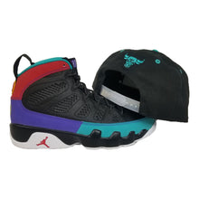 Load image into Gallery viewer, Matching New Era Chicago Bulls Snapback Hat For Jordan 9 Dream It Do It