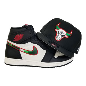 Matching New Era Chicago Bulls Snapback for Jordan 1 High Sports illustrated