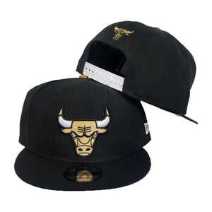 Matching New Era Chicago Bulls Snapback for Jordan 4 Laser Black Gum