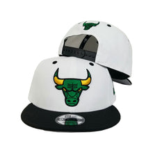 Load image into Gallery viewer, Matching New Era Chicago Bulls Snapback hat for Jordan 10 Seattle