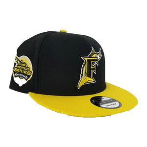 Matching New Era Florida Marlins Snapback for Nike Air Max 95 Yellow / Black