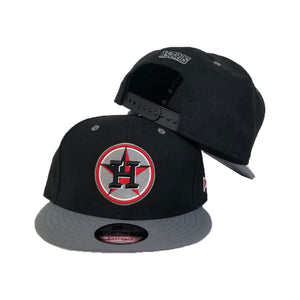 Matching New Era Houston Astros 9Fifty Snapback Hat for Jordan 4 Bred