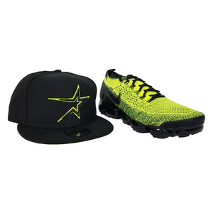 Matching New Era Houston Astros Snapback for Nike Air Max Vapormax Flyknit 2