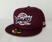 Load image into Gallery viewer, Matching New Era Maroon Cleveland Cavaliers Fitted Hat for Jordan 12 Bordeaux